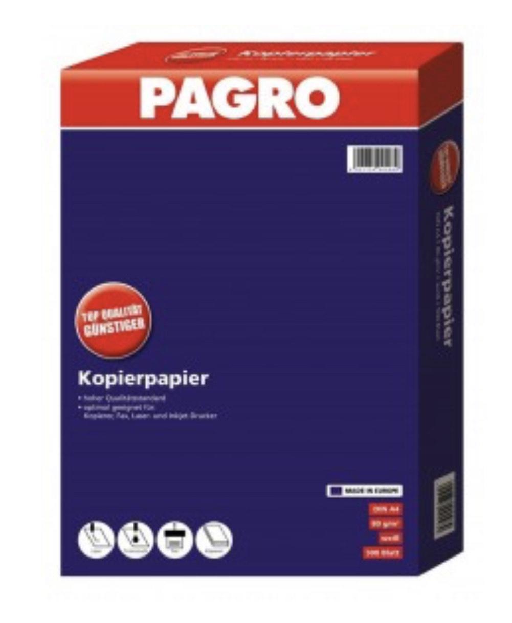 Pagro - Kopierpapier 7 Packungen um 15,23€ bei Abholung