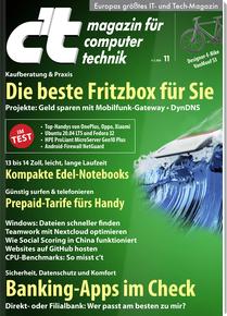 6x c't Zeitschrift + 15 Euro Amazon Gutschein + Desinfec't-Ausgabe + Smart Home Ausgabe