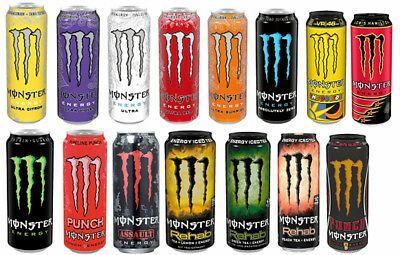 Monster Energy Diverse Sorten ab 2 Stk. 34% Nachlass