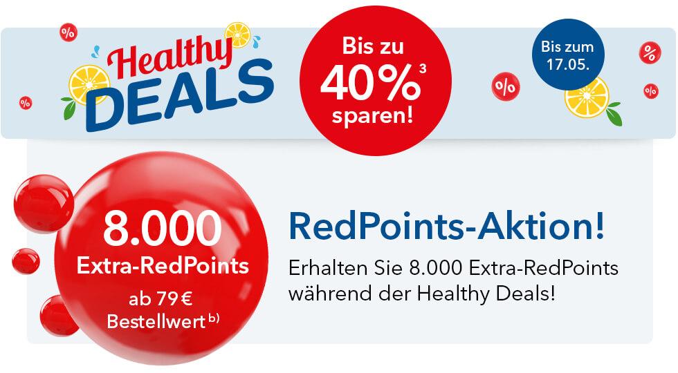 [Shop-Apotheke] zusätzlich 8000 Redpoints ab 79€ Bestellwert