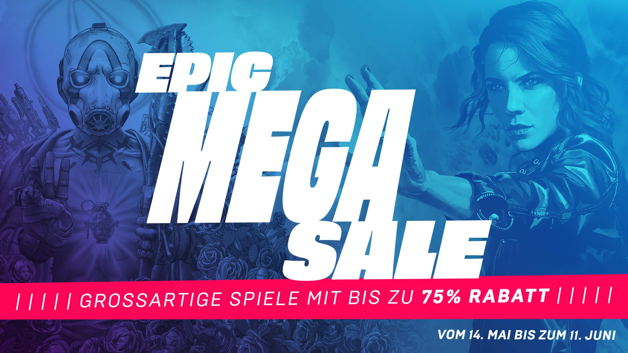 Epic Games Mega Sale (z.B. Witcher 3: Wild Hunt GOTY um 4,99€)