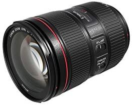Canon Zoomobjektiv EF 24-105mm (F4L IS II USM Objektiv für EOS, 77mm Filtergewinde, Bildstabilisator)
