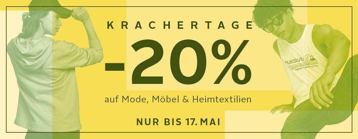 20% bei Otto auf Mode, Möbel & Heimtextilien