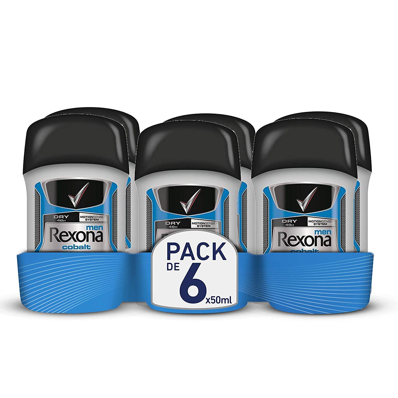 Rexona Men Anti-Transpirant Deostick 6er Pack im Spar-Abo