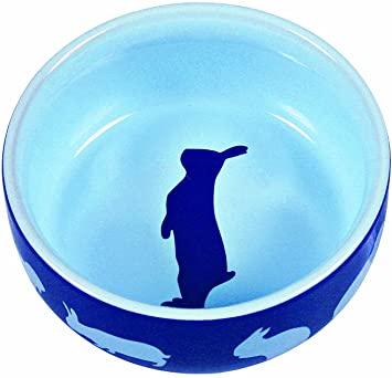 Trixie TX-60733 Keramikschüssel für Hasen 250 ml 11 cm