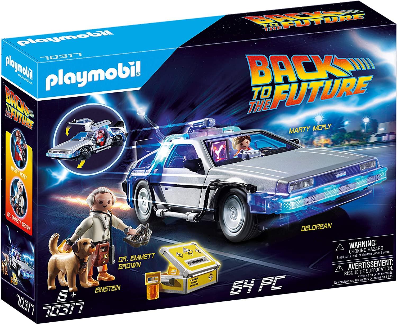 [Amazon] PLAYMOBIL Back to the Future 70317 DeLorean mit Lichteffekten um 39,94€