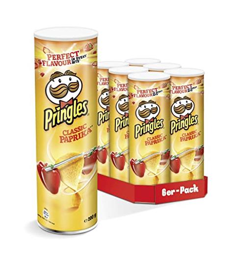 6x 200g Dose Pringles