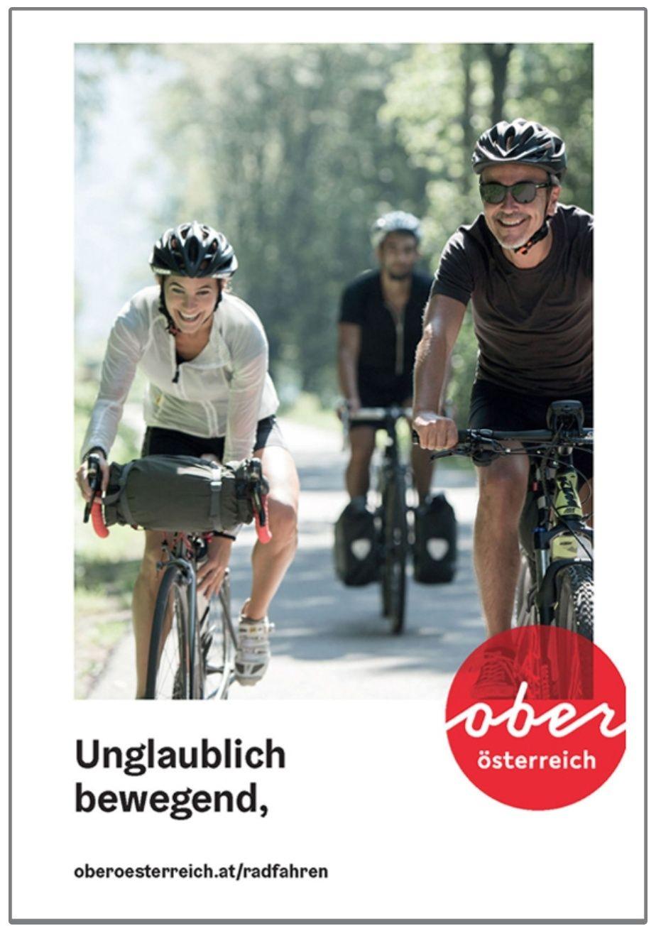 Gratis Oberösterreich Radkarte