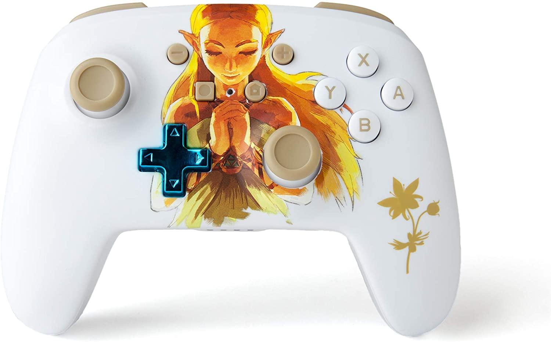 AMAZON.co.uk l PowerA Kabelloser -Controller für Nintendo Switch – Prinzessin Zelda