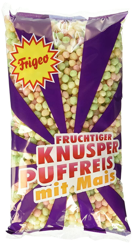 15x 80g Frigeo Knusper-Puffreis – luftig-fruchtiger Knusper-Spaß