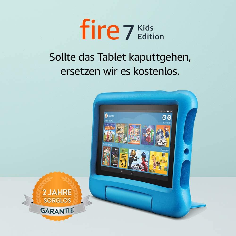 Fire7 Kids Edition-Tablet in Blau, Pink oder Violett