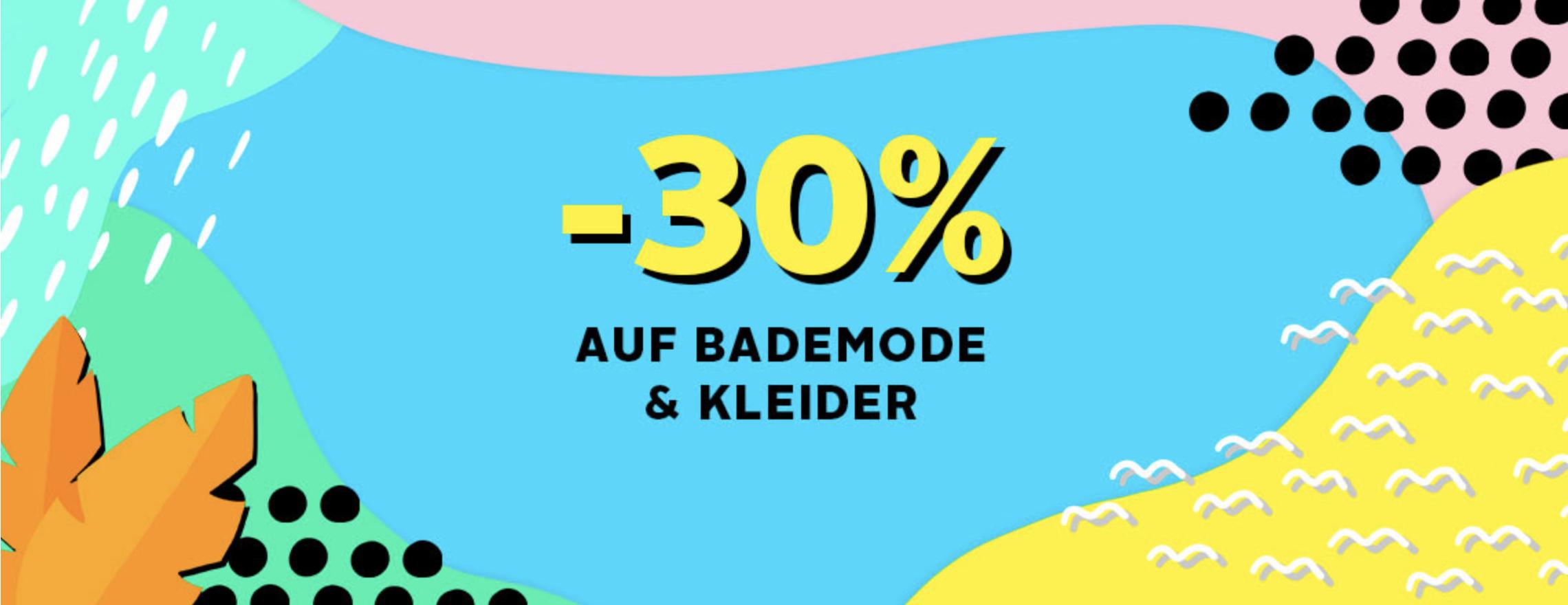 Otto - 30% auf Bademode und Kleider