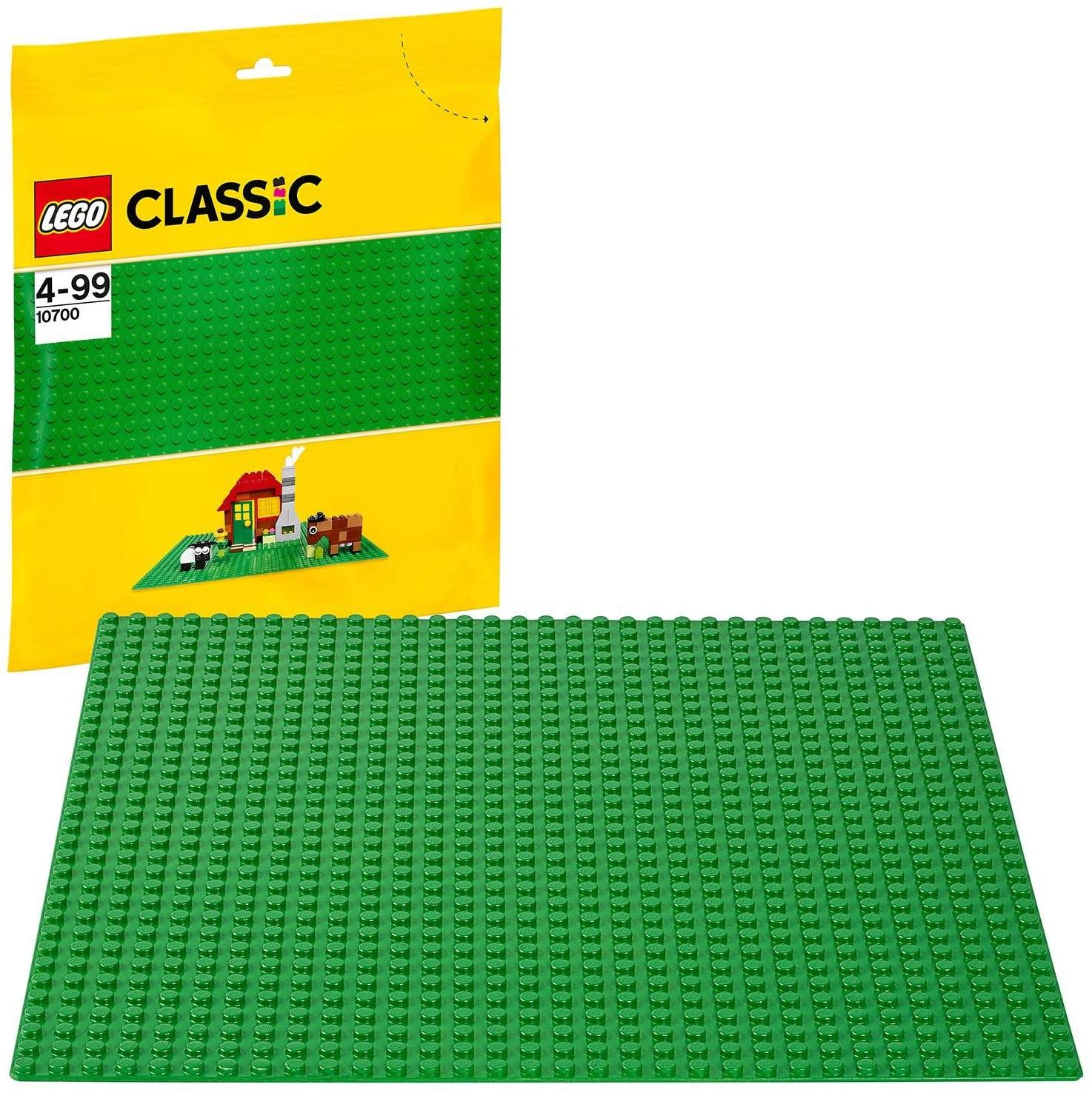 Lego Grundplatte, grün