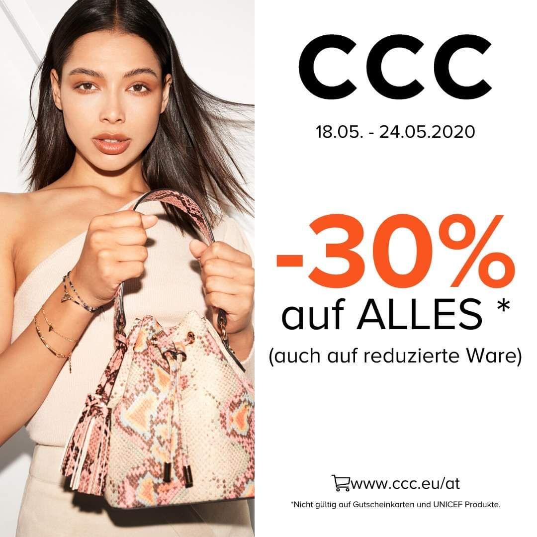 CCC Schuhe -30% auf Alles