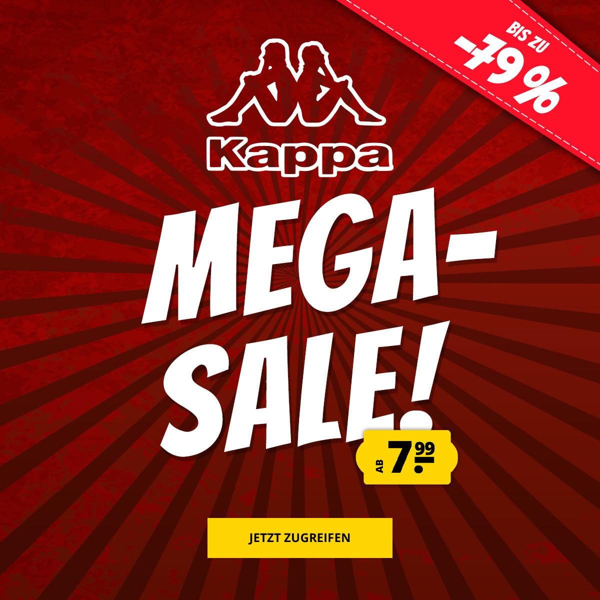 Sportspar: Kappa Sale mit tollen Preisen