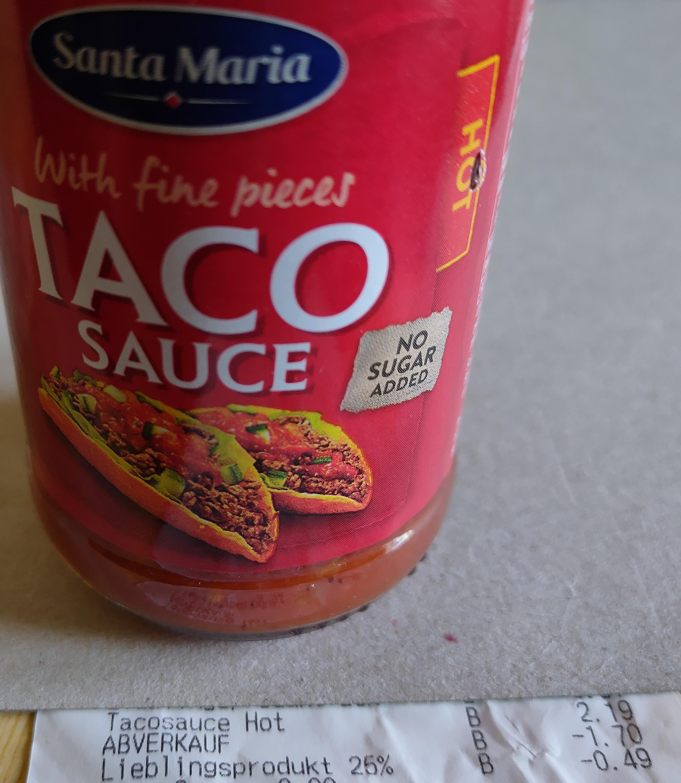 Gratis Taco-Sauce (HOT) bei Billa