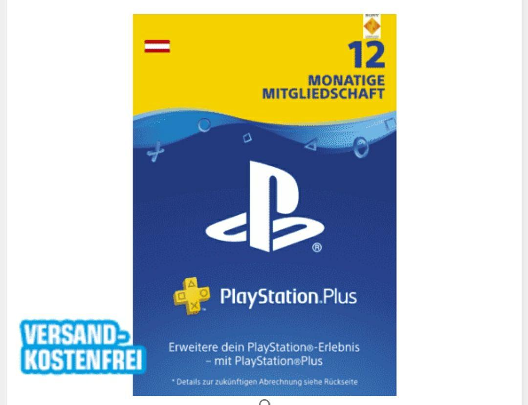 PlayStation Plus Mitgliedschaft 1 Jahr