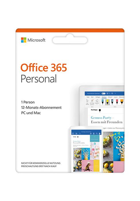 (Amazon) Microsoft Office 365 - 6 Nutzer für 1 Jahr für nur 56€ (Code in Box)