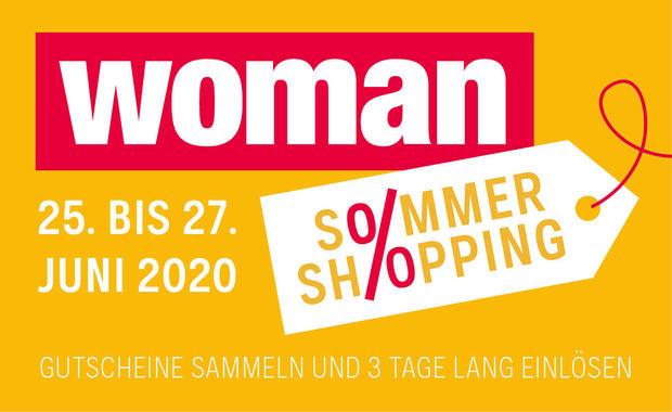 """Woman Day """"Ersatz"""" - Sommer Shopping - 20% auf Alles - 25.6.-27.6.2020"""