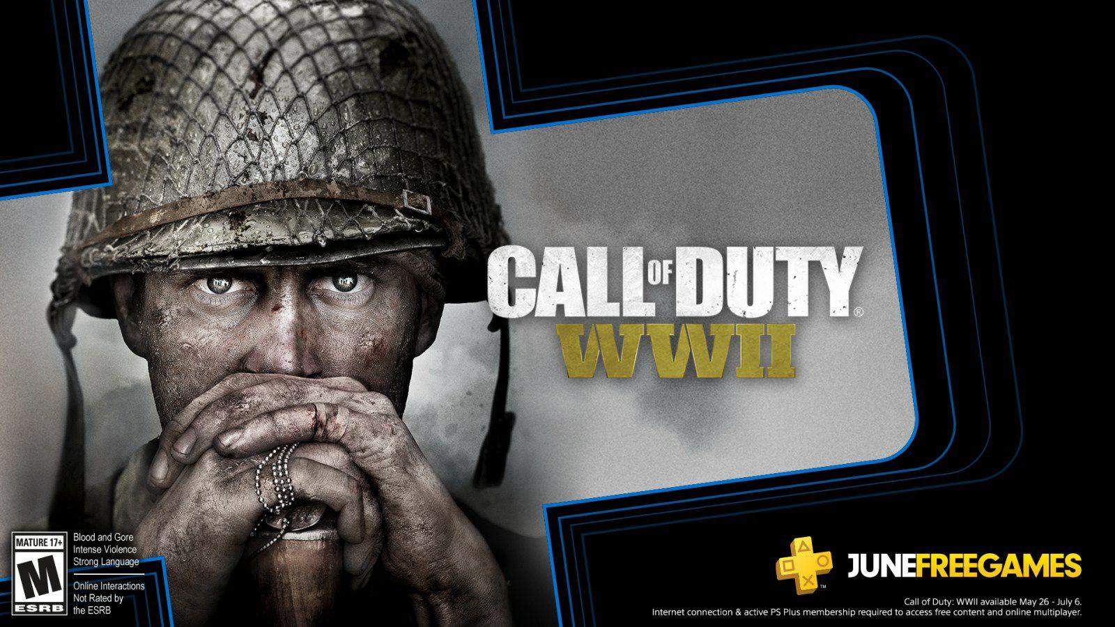 Call of Duty WWII ab sofort gratis für PS4 Plus Mitglieder