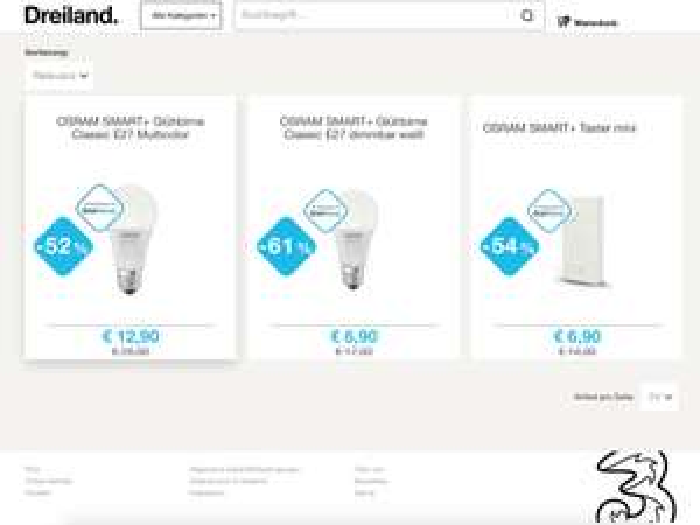 Verschiedene Osram Smart+ ZigBee Lampen Angebote + Gutschein Deal