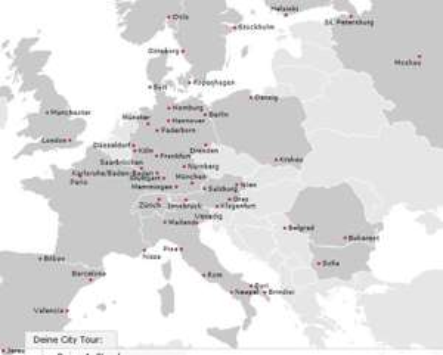 Airberlin City Tour Pass für alle bis 27 - 5 One-Way-Flüge zu vielen europäischen Zielen für nur 199€