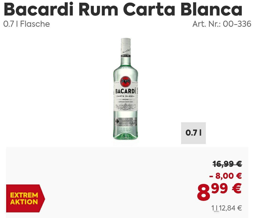 [Durstiger Preisjäger] Bacardi Carta Blanca
