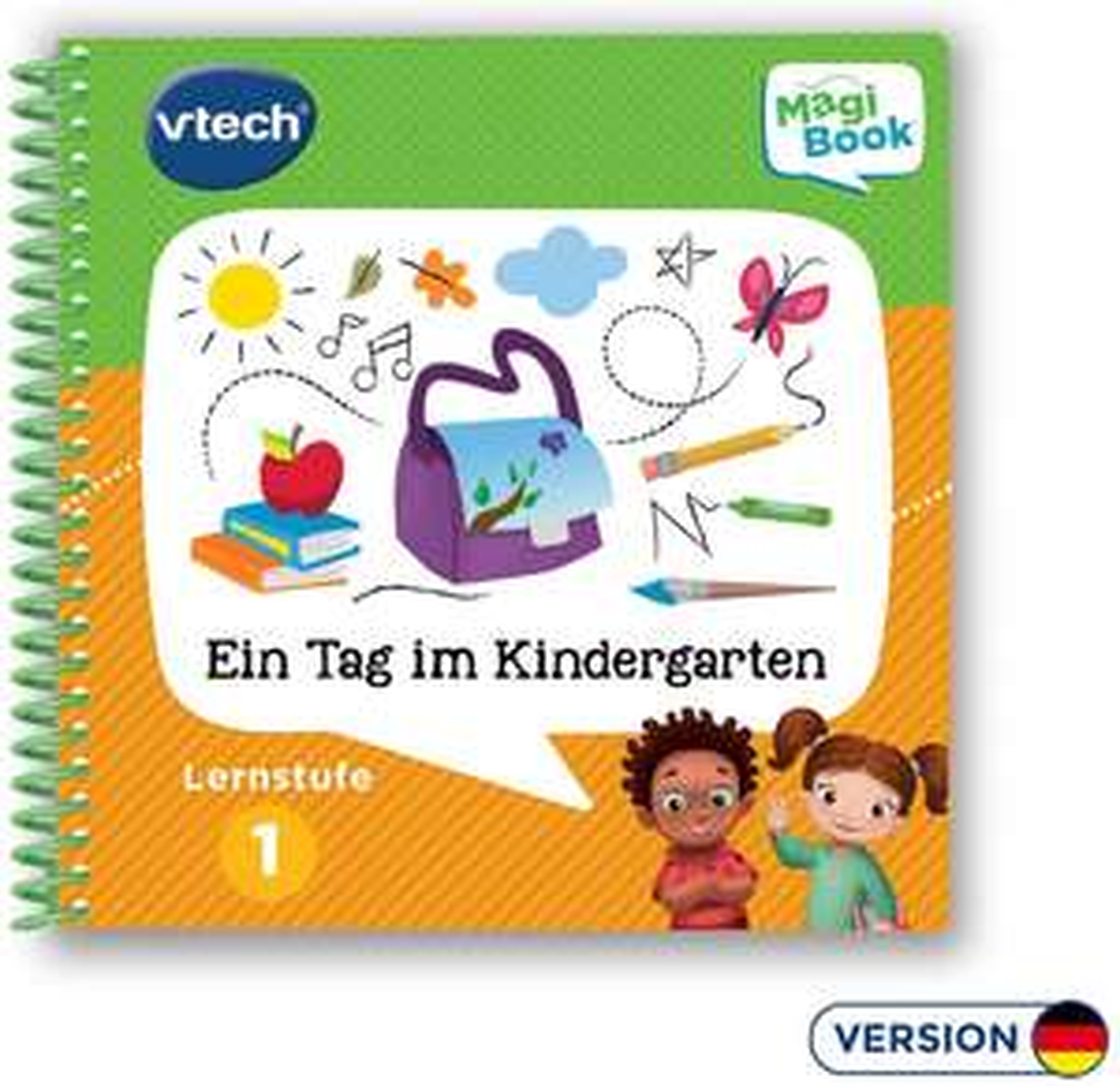 VTech Lernstufe 1 - Ein Tag im Kindergarten MagiBook
