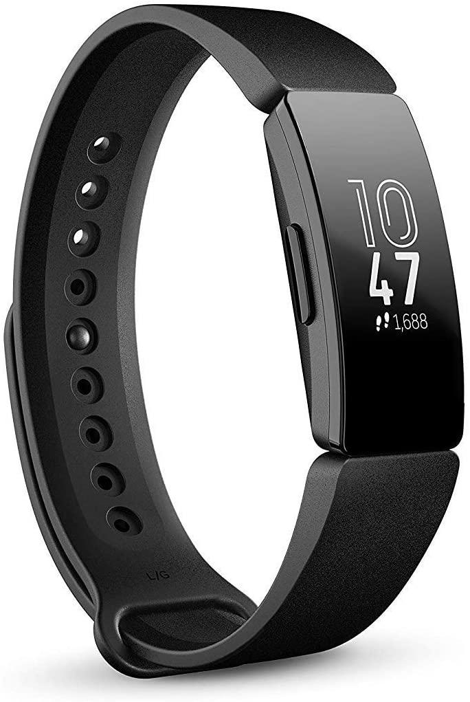 Fitbit Inspire (nicht HR) - Schwarz + Rot