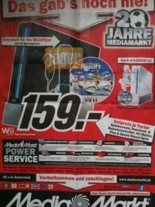 Media Markt Österreich: Neues Prospekt mit vielen Schnäppchen - Nintendo Wii Bundle, Oral-B Professional, LG Full HD-TV und mehr