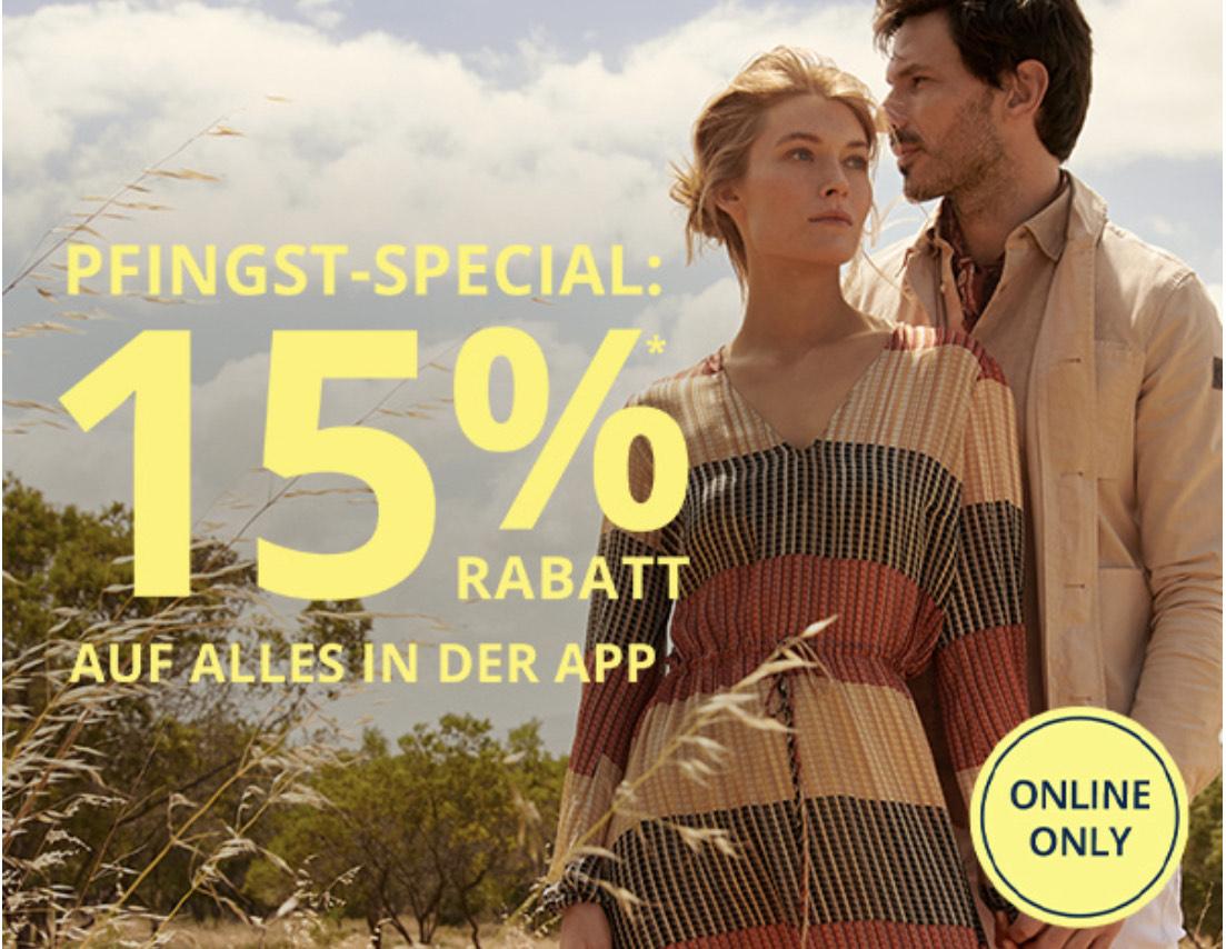 Peek & Cloppenburg: 15% Rabatt auf alles