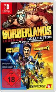 [Amazon] Borderlands - Legendary Collection Switch um 40,28€ statt (49,78€)