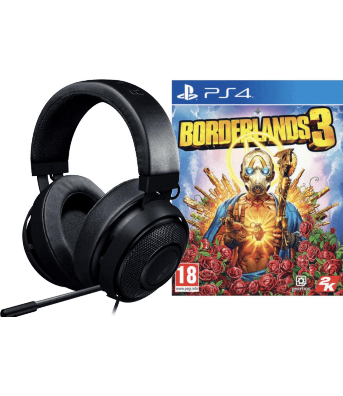 Razer Kraken Pro v2 für PS4 + Borderlands 3 PS4