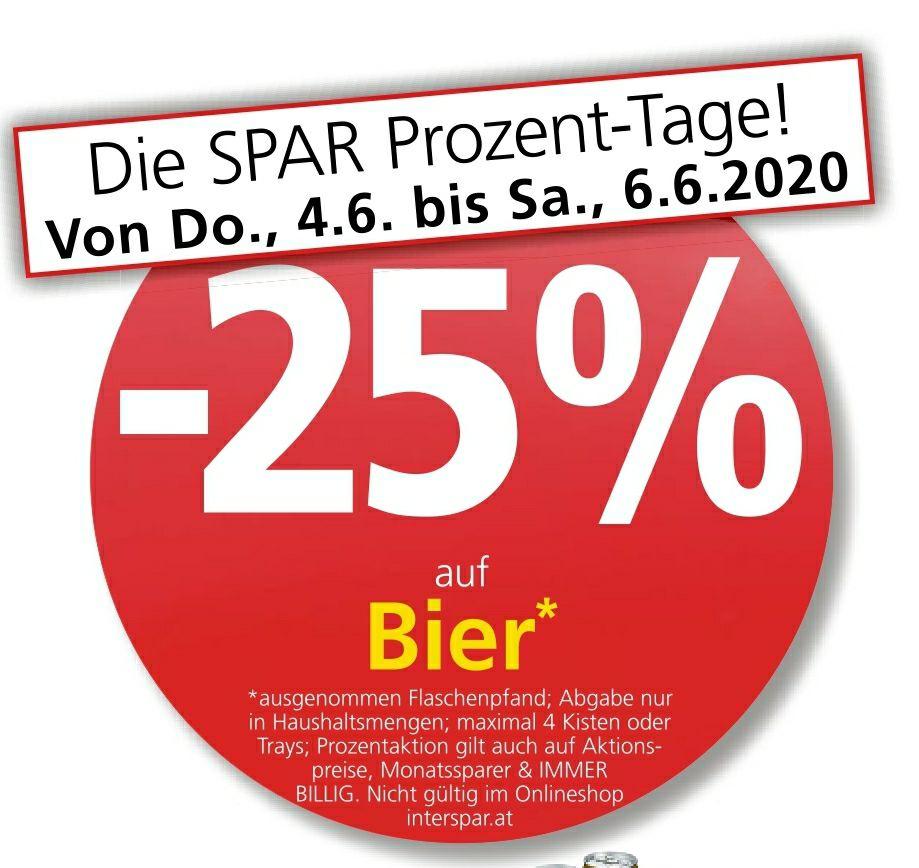 Bier -25%