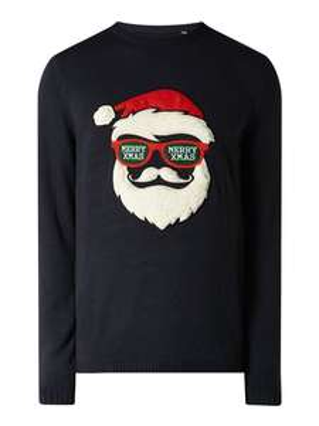 (Antizyklisch kaufen) Only & Sons Pullover mit Weihnachtsmuster