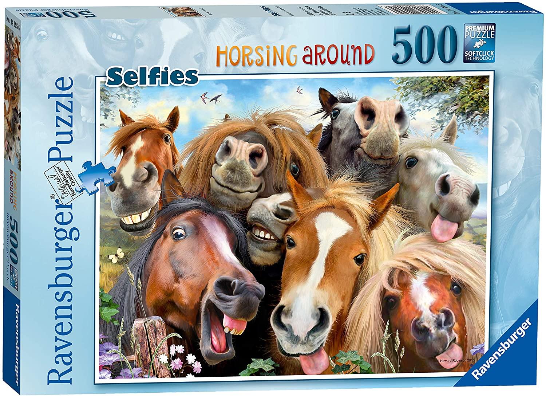 Ravensburger 146956 Pferde Selfie Puzzle - 500 Teile