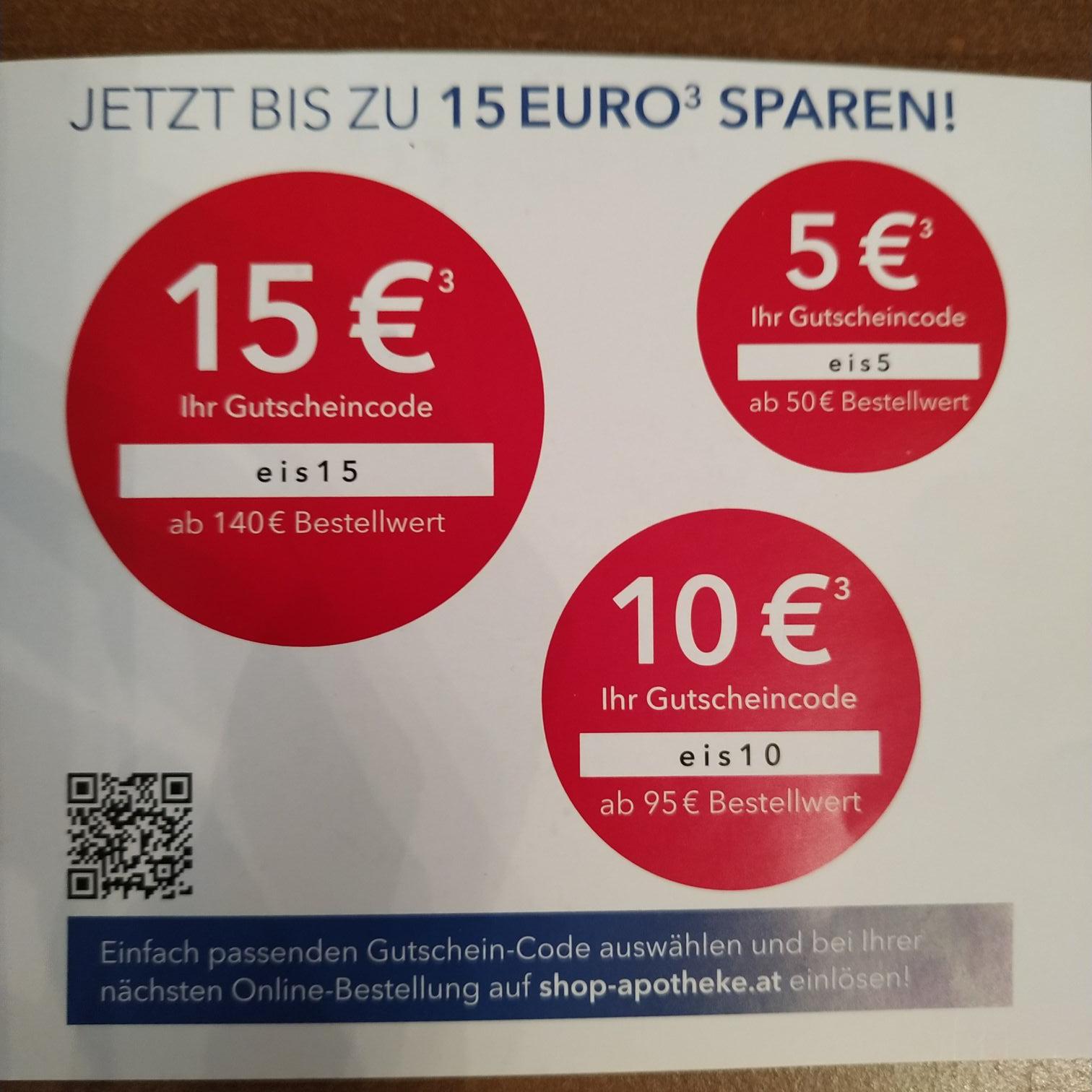 Shop-Apotheke 5€/10€/15€ Gutscheincode