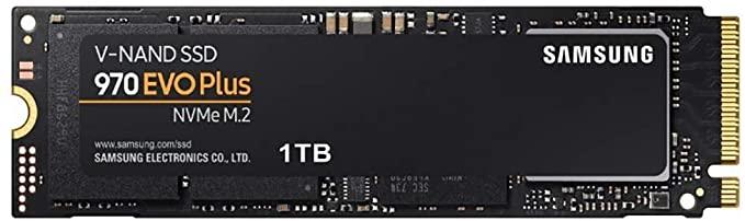 Samsung 970 EVO Plus 1 TB NVMe M.2 Interne SSD