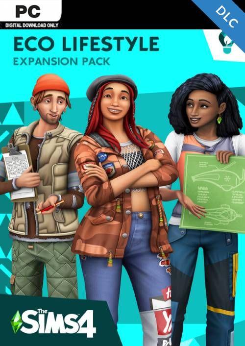 Die Sims 4 Nachhaltig leben-Erweiterungspack