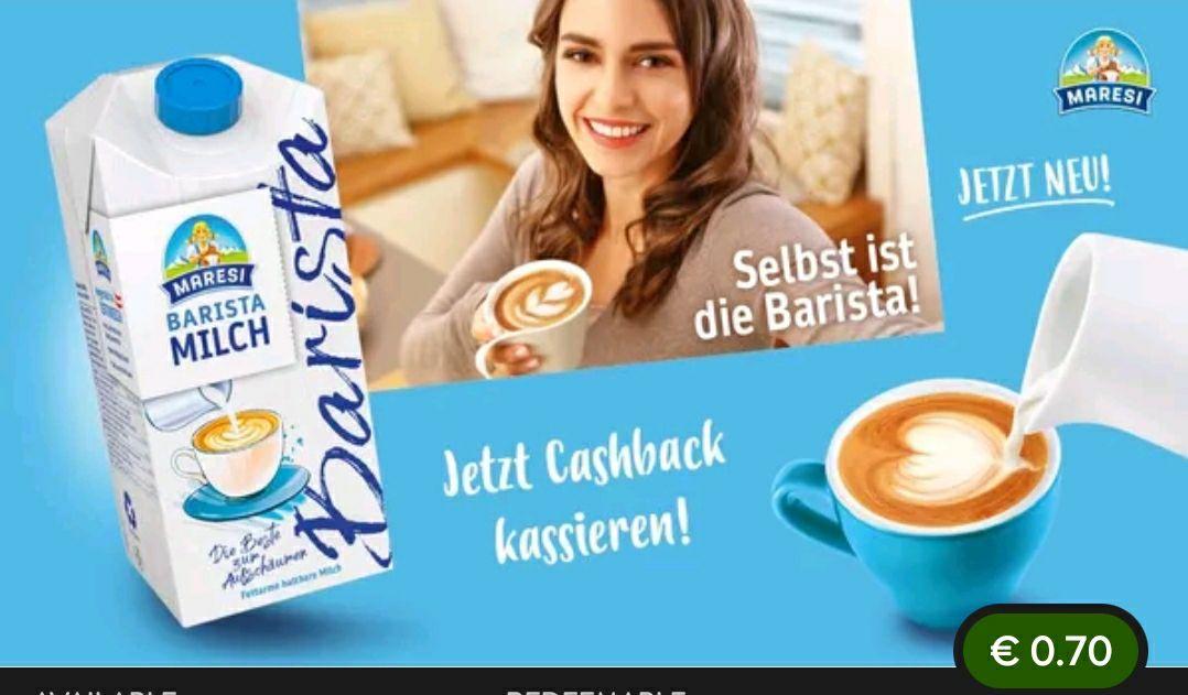 Barista Maresi Milch Aktion + cashback
