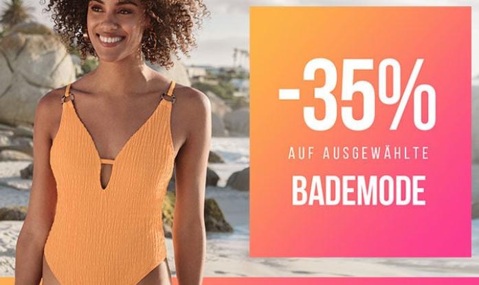 Hunkemöller: 35% Rabatt auf ausgewählte Bademode