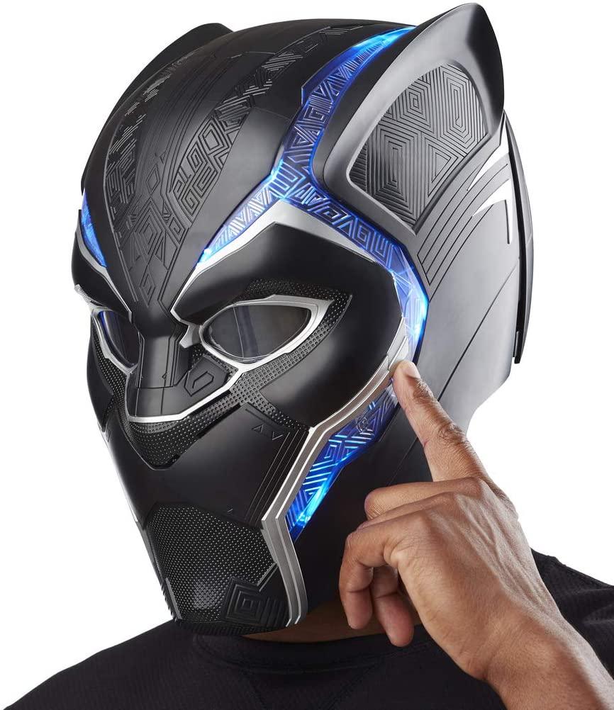 Hasbro Marvel Black Panther Legends, elektronischer Helm für Erwachsene, schwarz