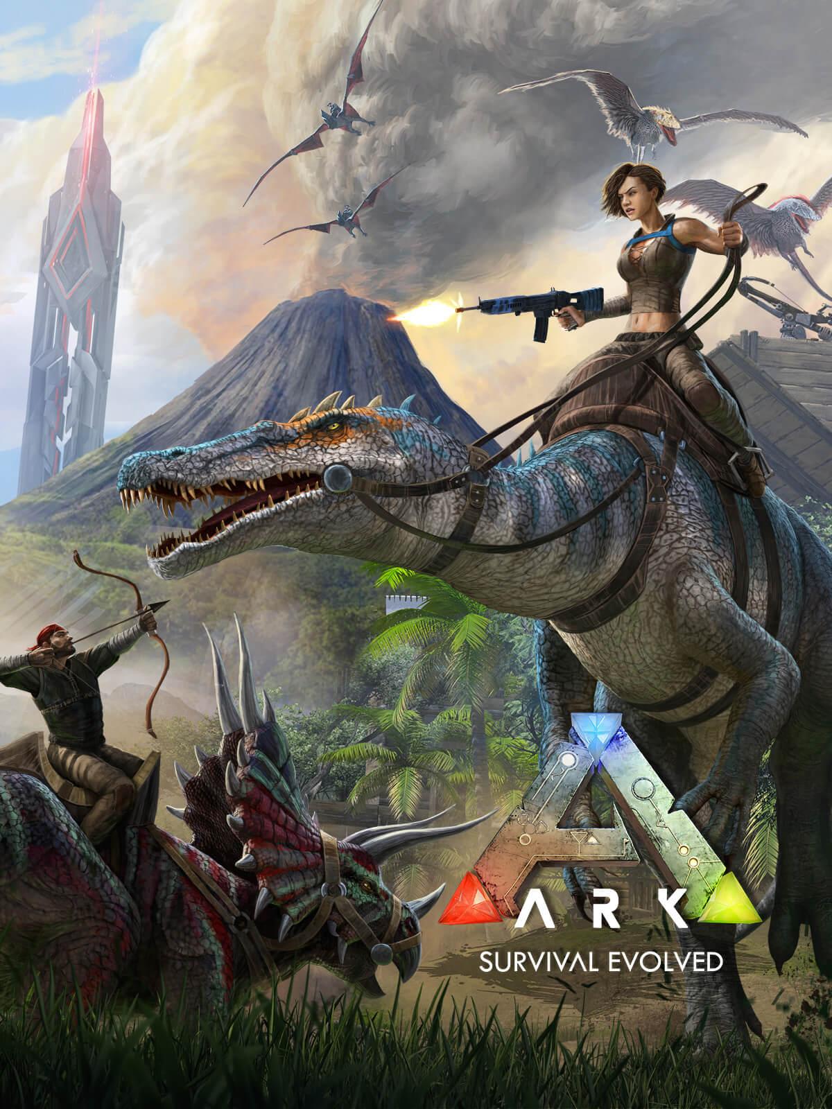 ARK Survival Evolved + Diverse DLC´s dazu kostenlos im Epic Store