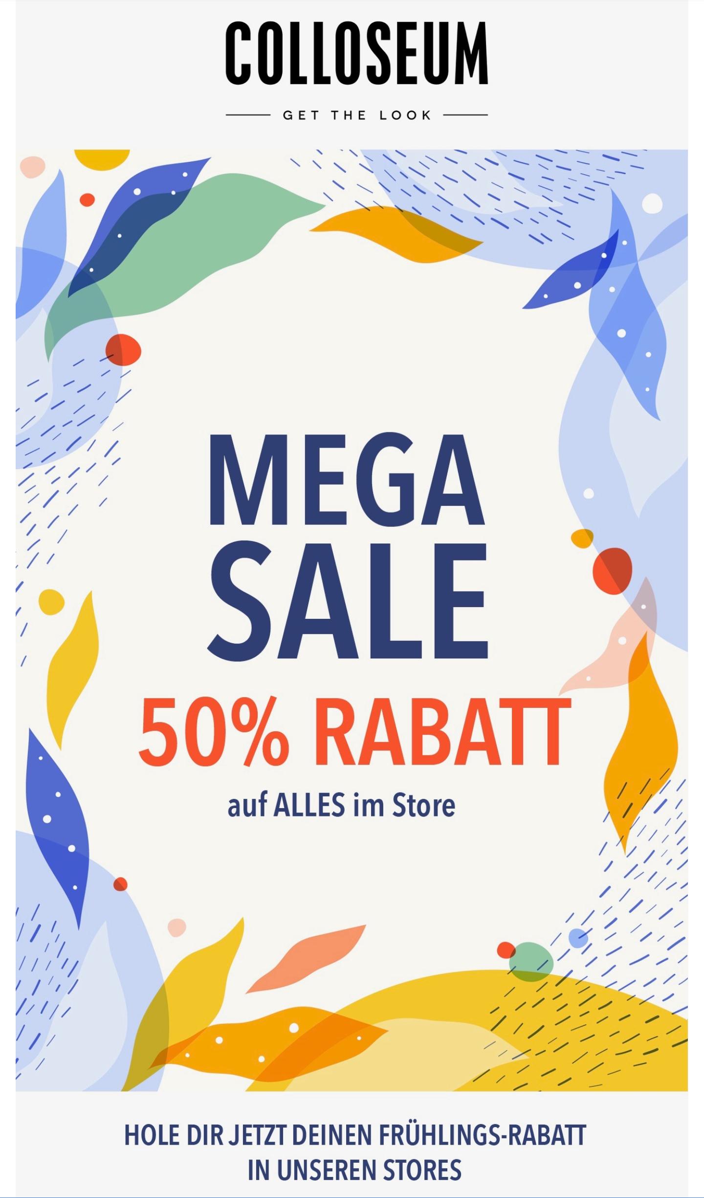 Sale 50% COLLOSEUM