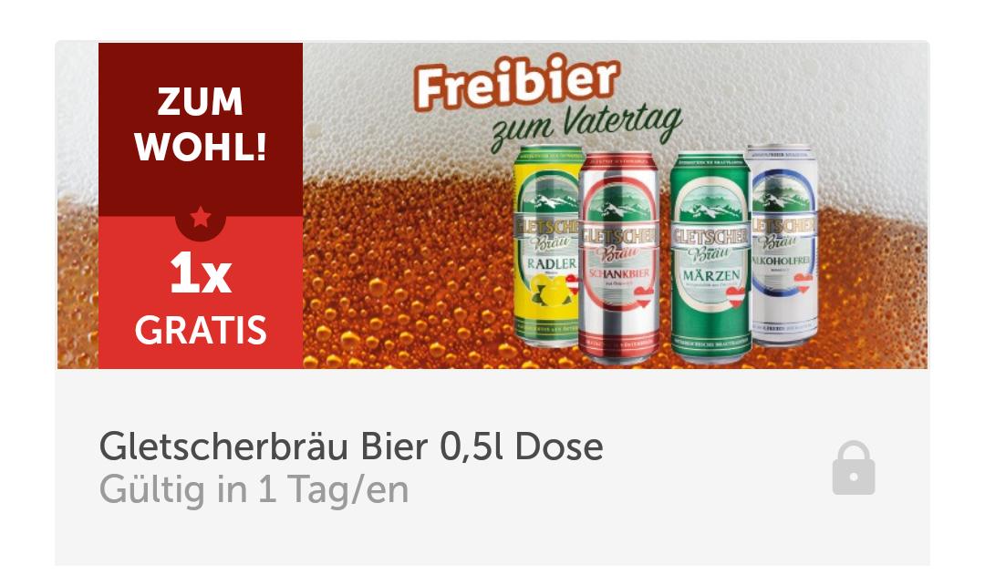 """[LidlApp] Gletscherbräu """"Bier"""" 0,5l Dose am Samstag kostenlos"""