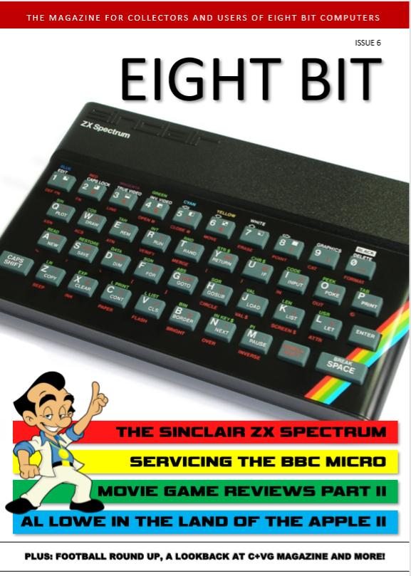 8x Retro Computer Zeitschriften kostenlos (6x Eight Bit Magazin, 8-Bit Annual 2018 & 2019)
