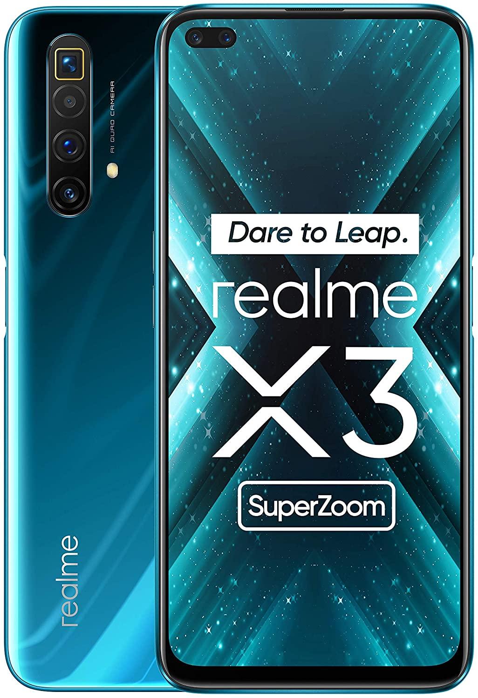"Realme X3 Super Zoom 6.5"", 12GB + 256GB + 64MP Cam, SD 855+, 120hz Display"