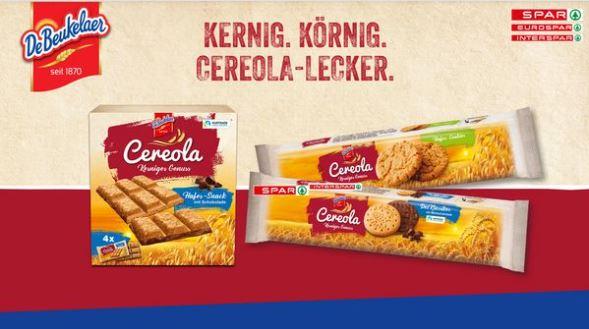 DeBeukelaer Cereola Hafer-Cookies + Der Klassiker für 0,84€