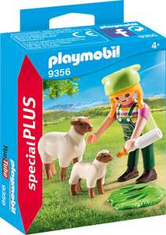 Preisjäger Junior: Playmobil - Bäuerin mit Schaf oder Stewardess & Offizier