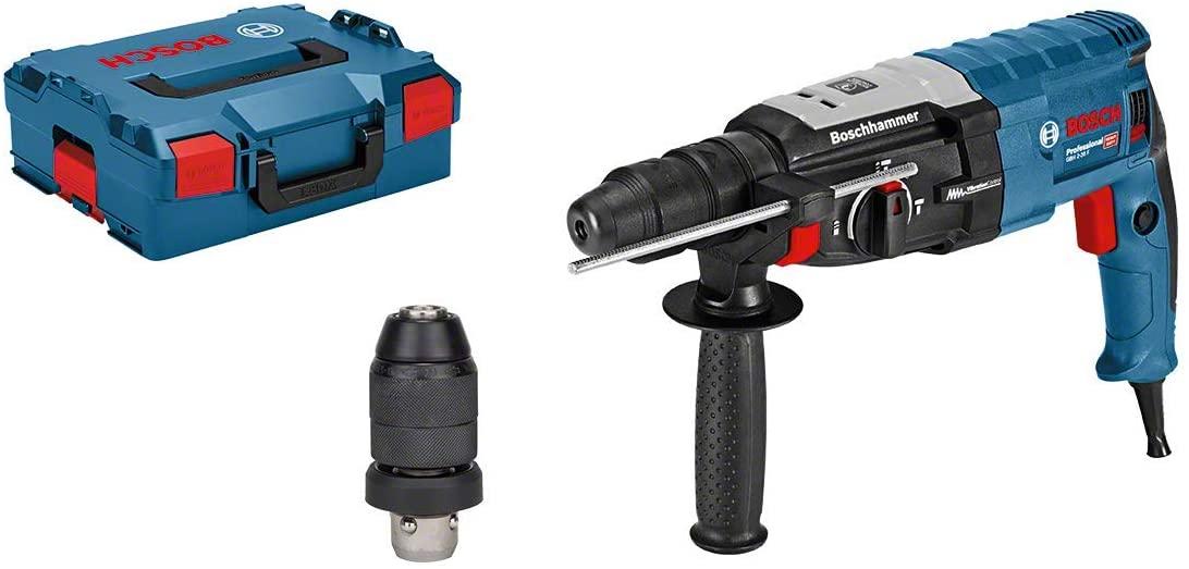 Bosch Bohrhammer GBH 2-28 F (SDS-plus-Wechselfutter, 13 mm Schnellspannbohrfutter in L-BOXX)